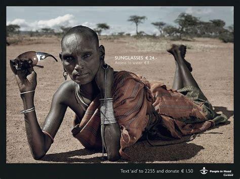 imagenes impactantes africa una ong crea impactante ca 241 a contra el consumismo