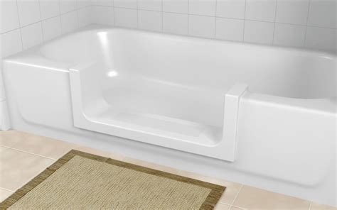 Shower Into Bathtub by Walk In Bathtub Albuquerque Nm