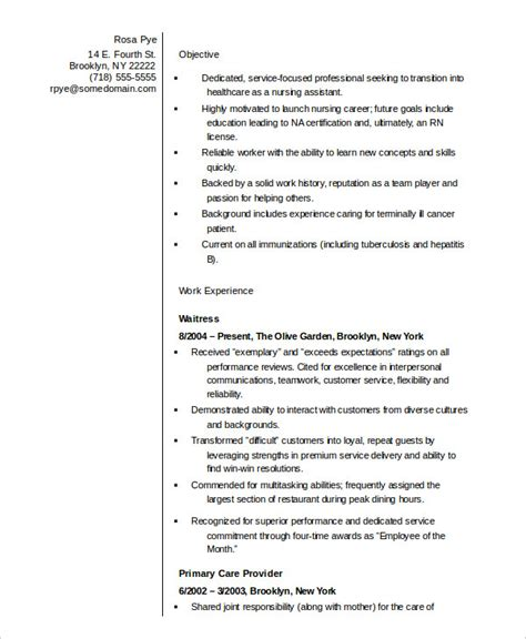 Nursing Resume Template by 10 Resume Templates Pdf Doc Free Premium