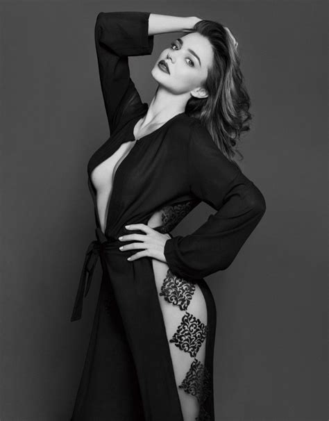 Miranda Kerr Poses Up a Storm in Photo Shoot for Trends