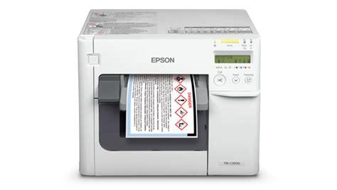 Harga Matrix Colour jual printer label warna inkjet epson tm c3510 pt