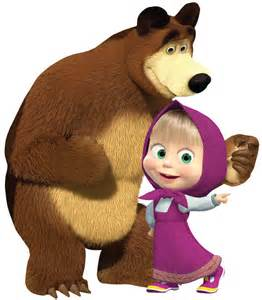 About masha and the bear wall sticker childrens bedroom wall decal