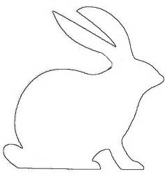 Rabbit Pictures Outline by Bunny Outline Printable Clipart Best