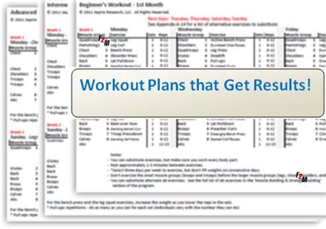 printable workout plan build muscle best photos of muscle building workout plan workout