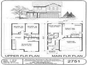 two story tiny house plans small two story house plans simple two story house plans