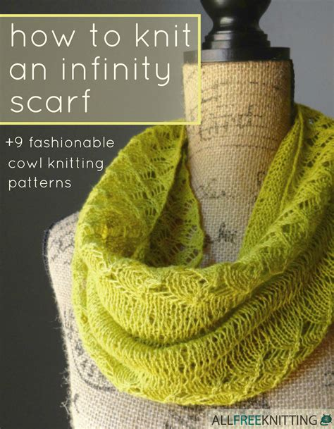 how to end knitting an infinity scarf how to knit an infinity scarf 9 fashionable cowl