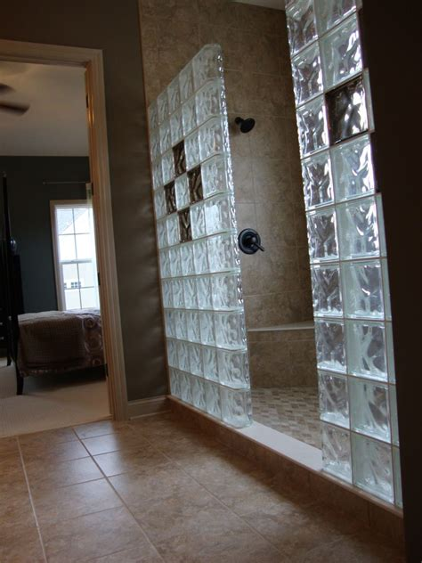 glass block bathroom designs glass blocks in new construction windows showers walls