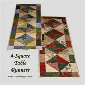 charm pack table runners giveaway craftedangles