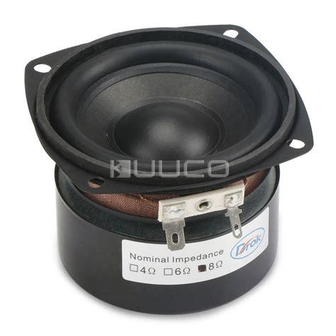 Speaker Subwoofer 3 Inch woofer speaker 3 inches 4 ohms audio loudspeaker 25w hi fi