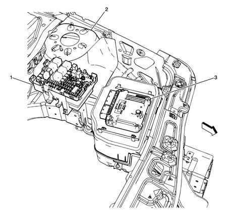 2007 chevy equinox engine diagram 2007 chevrolet equinox engine compartment fuse block and
