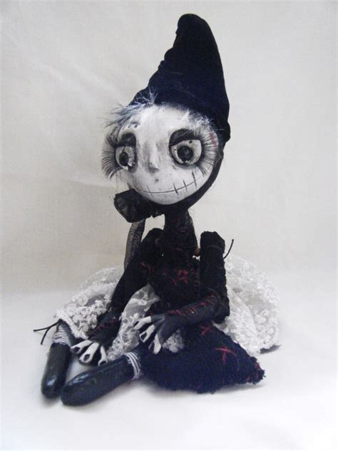 Creepy Handmade Dolls - handmade ooak creepy rag doll silly