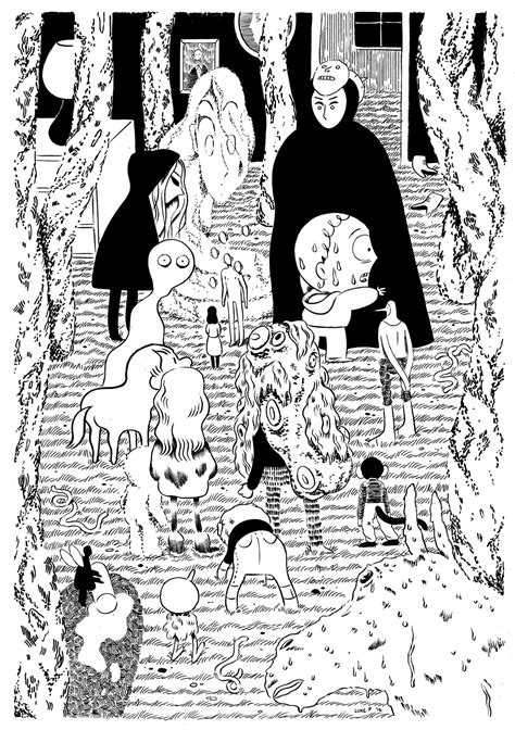 B W Sketches by B W Drawings Luke Pearson Illustration And Comics