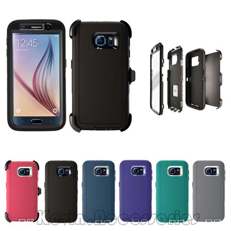 Caseology Samsung S6 Edge Hardcase Anti Murah 2 defender for samsung galaxy note 5 with belt clip screen protector ebay