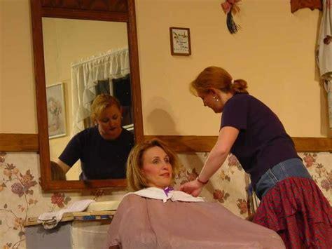 beauty salon punishment forced feminization tattoos