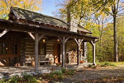 rustic guest cottage rustic guest cabin home design garden architecture