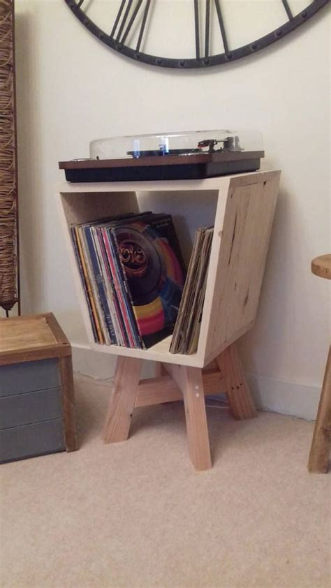 record player turntable stand vinyl storage turntable