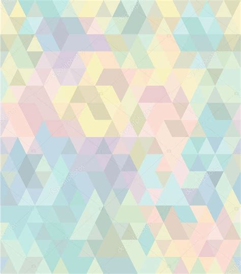 pattern triangle pastel seamless geometric pattern in pastel tints 2 stock
