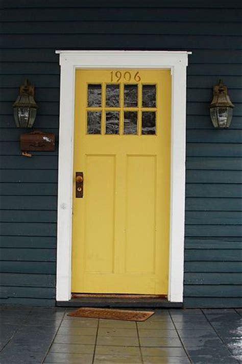 blue house white trim front door navy blue house thick white trim yellow front door