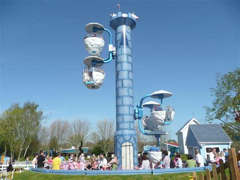 theme park tourist windy castle at paultons park theme park tourist
