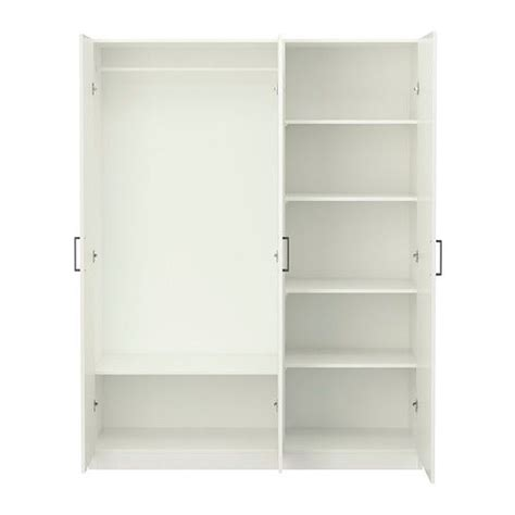 Armoire Dombas Ikea by Domb 197 S Wardrobe Ikea Adjustable Shelves And Clothes Rail