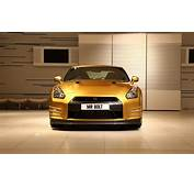 Gold Nissan GT R Widescreen Exotic Car Wallpapers 02 Of 4