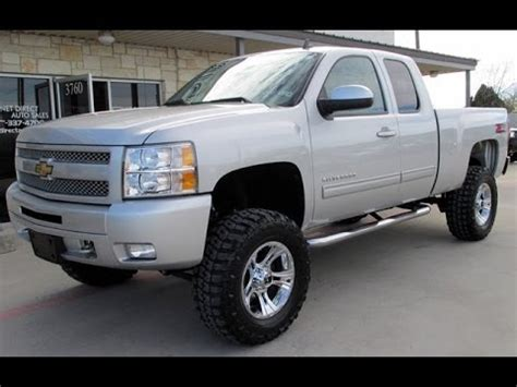 lifted 2011 chevy silverado 1500 lt ext. cab 4wd youtube