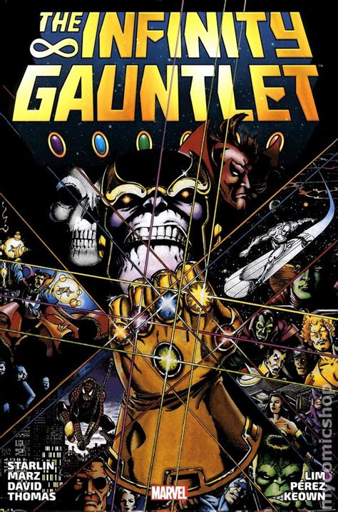 the infinity gaunlet comic books in infinity gauntlet