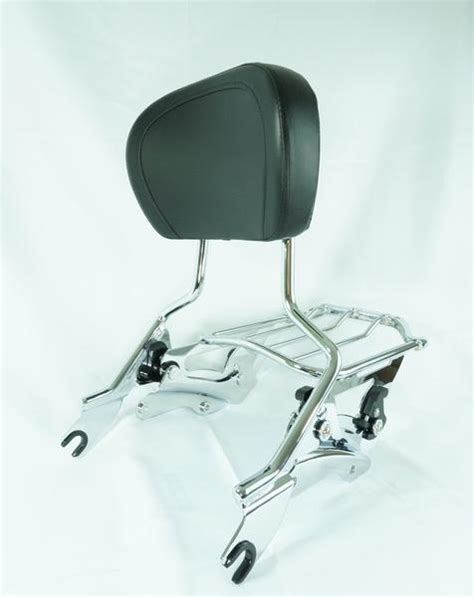 Sissy Bar Luggage Rack Combo by Glide Combo 4 Point Hardware Sissy Bar Air