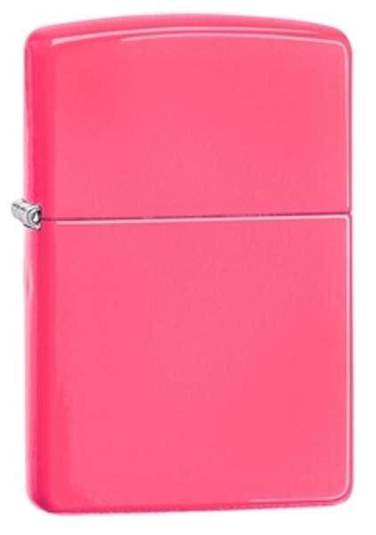 Zippo Original Neon Pink No Logo 28886 zippo neon pink