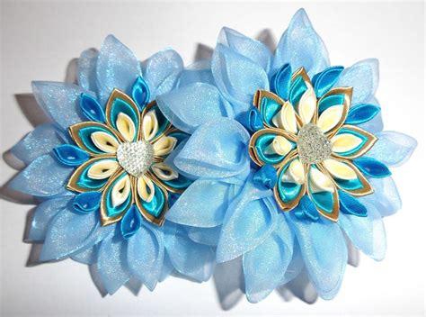 Hairpn Jepit Rambut Lemon 413 best folding images on fabric flowers ribbon flower and ribbons