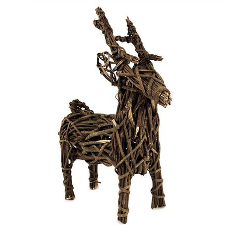 outdoor wicker reindeer buy wicker reindeer the worm that turned revitalising