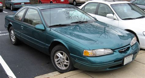 how cars engines work 1989 ford thunderbird free book repair manuals file 89 95 ford thunderbird jpg wikimedia commons