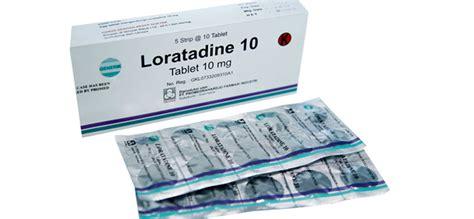 Obat Antihistamine loratadine dokter sehat