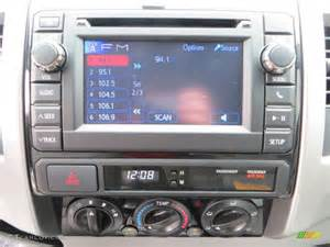 2013 Toyota Tacoma Stereo 2013 Toyota Tacoma Tss Prerunner Cab Audio System