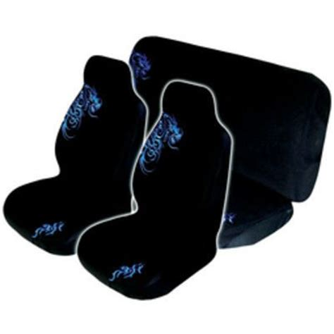anime car seat covers car seat cover pack blue front rear size 60