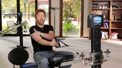 chuck norris total tricep workout routine