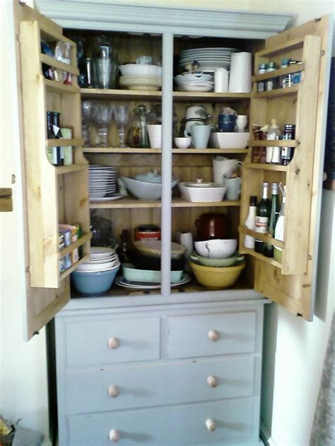 free standing pantry home