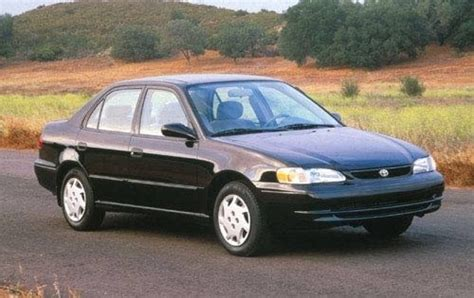 Toyota Corolla Maintenance Cost Maintenance Schedule For 1999 Toyota Corolla Openbay