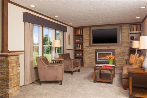 beautiful mobile home interiors elegant living room decorating ideas with fireplace and tv