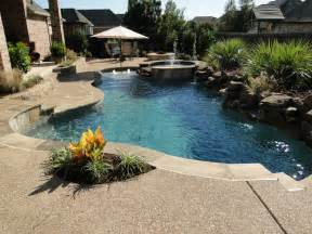 Backyard Wading Pool Freefrom Pool Richland Boulder Backyard Landscaping Ideas Swimming