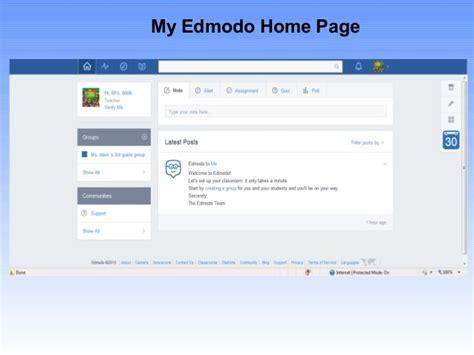 edmodo home login edmodo presentation file