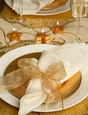 Gold Table Decorations by 2010 Decor Trends Gold And Brown