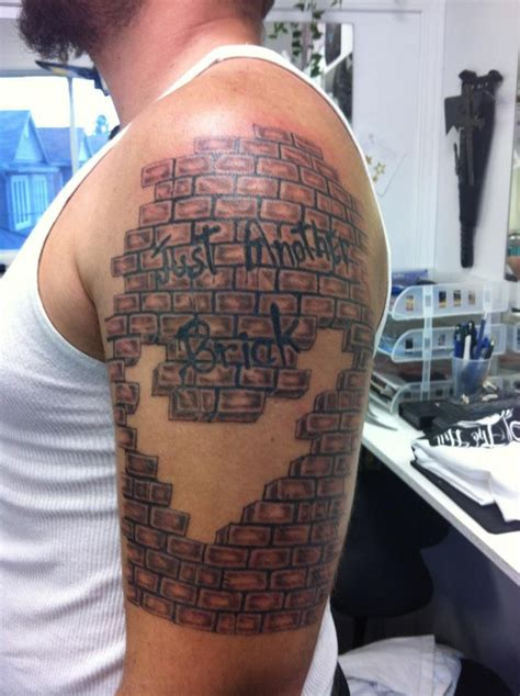brick wall tattoo 1000 images about tattoos ideas on david