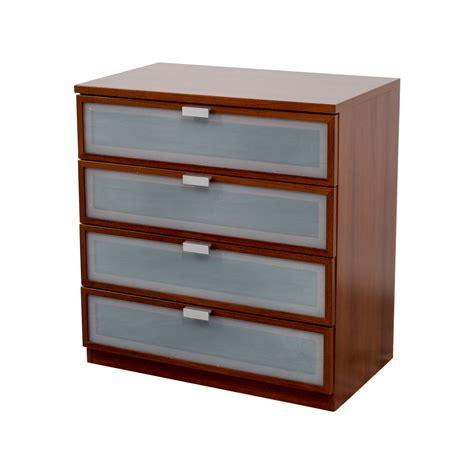 86 ikea ikea medium brown four drawer dresser storage