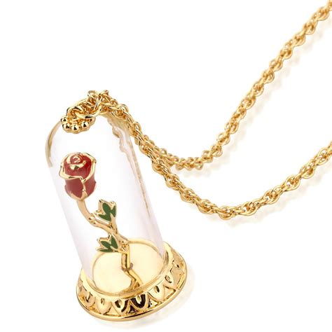 jewelry uk disney couture the beast gold plated enchanted