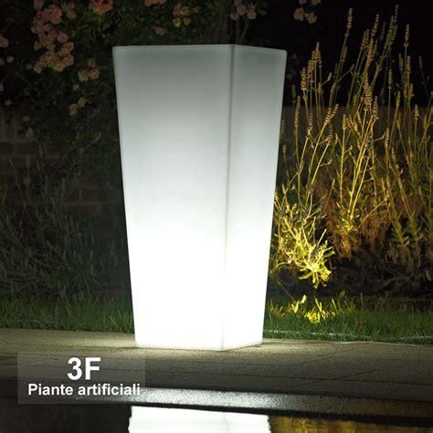 vasi luminosi economici vaso luminoso kiam cm 90 3f piante artificiali