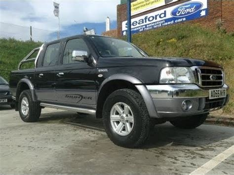 ford ranger 2 5 turbo diesel cab for sale at seaford ford sussex