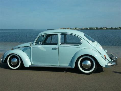 blue volkswagen beetle vintage classic vw beetle bugs chris vallone fan of the vintage