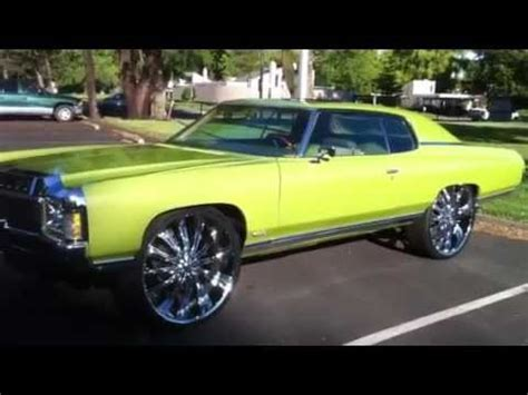 71 impala donk on 28's youtube