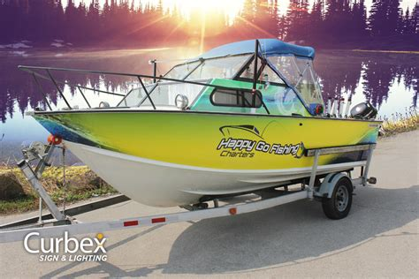 boat decals and wraps curbex vehicle graphics wraps decals custom designs